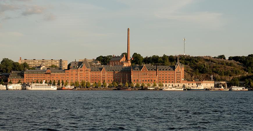Münchenbryggeriet i Stockholm. Foto: Peter Haas via Wikimedia Commons