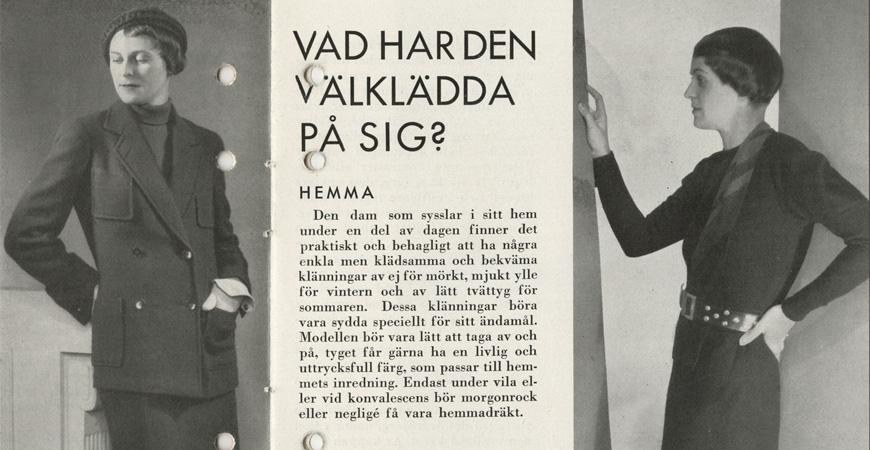 Stilguide ur MEA:s arkiv hos Centrum för Näringslivshistoria