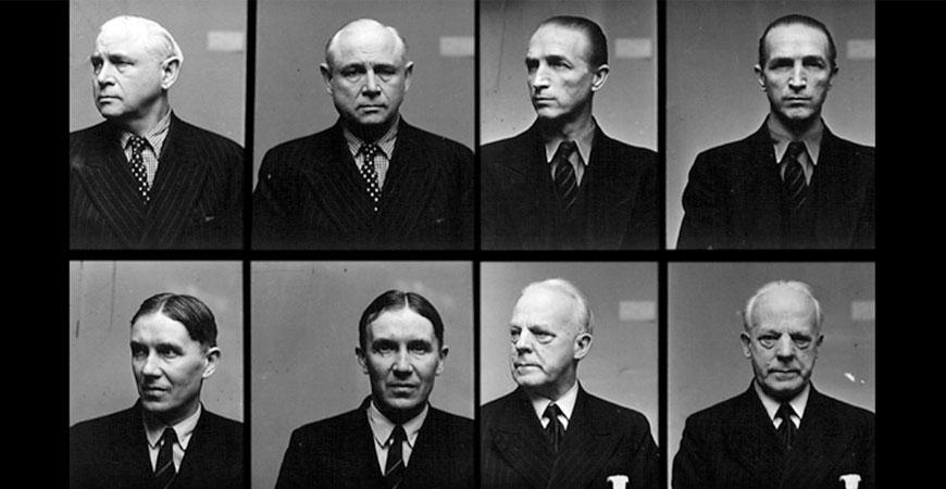 Arresteringsbild från Gestapo. Fotograf: Källa: Albert Bonniers förlag