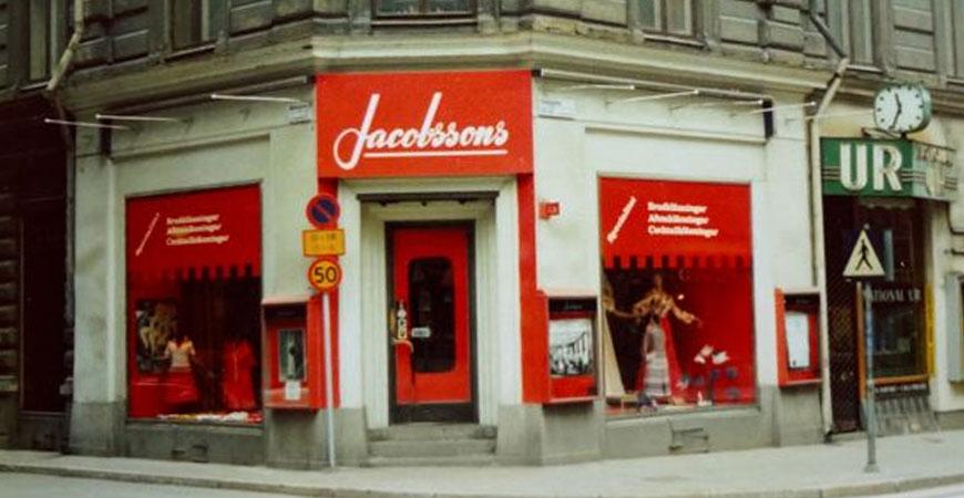 Jacobssons Damkläder 70 år på Kungsgatan