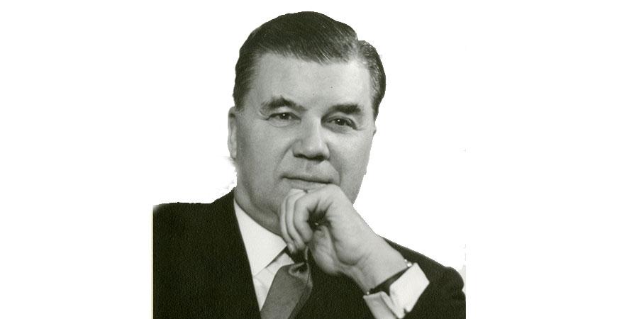 Folke Beronius, i foto från 1964. (Foto: privat från familjen.)