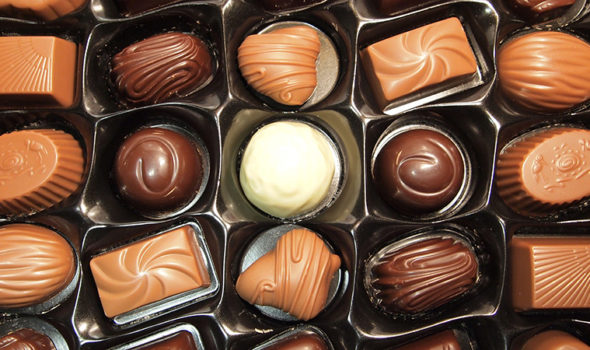Aladdin chokladask. Foto: Tiia Monto