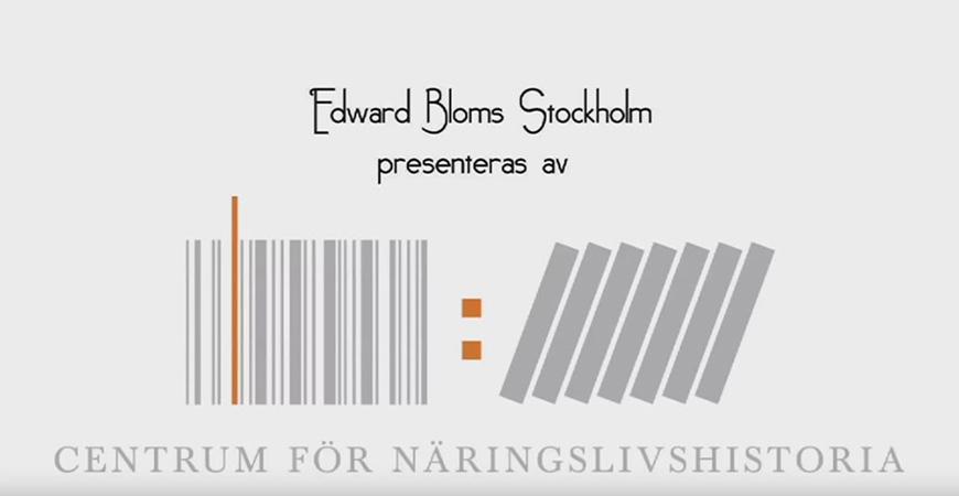 Edward Bloms Stockholm: Introduktion