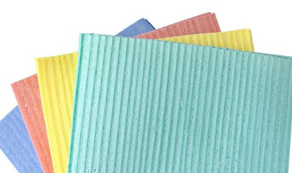 Disktrasa tillverkad av cellulosa. Bild från Jysk.se