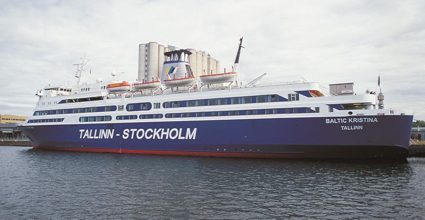 Estlines skepp Baltic Kristina. Källa Estline.se