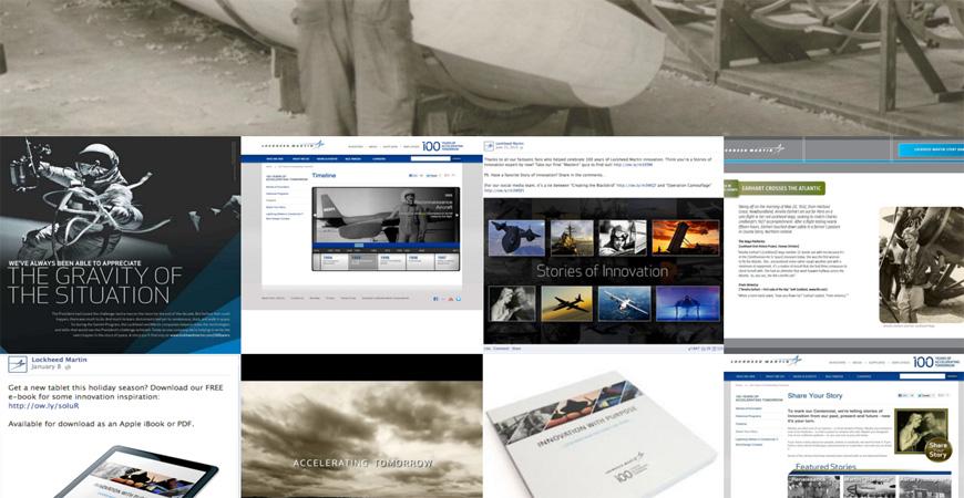 Skärmdump från History Factorys hemsida.