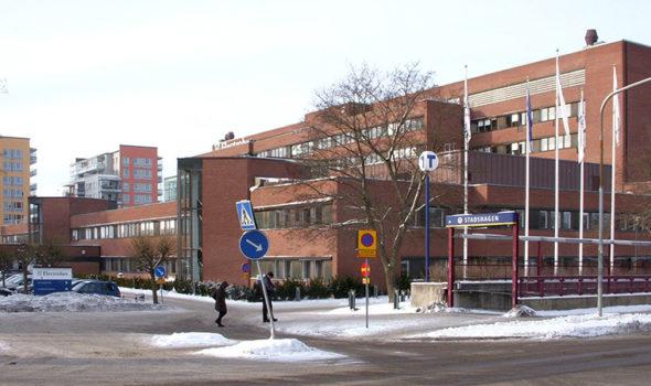 Electrolux huvudkontor i Stockholm 2012. Foto: Holger Ellgaard, Creative Commons