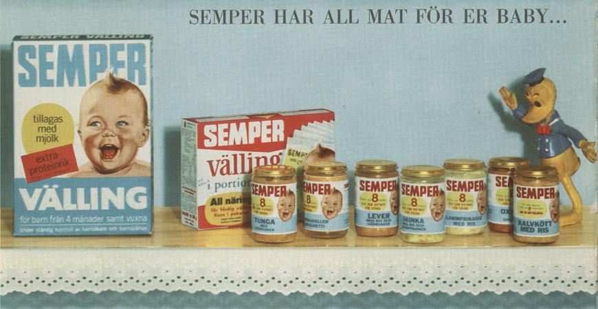 Semper - vällingen som blev bestående