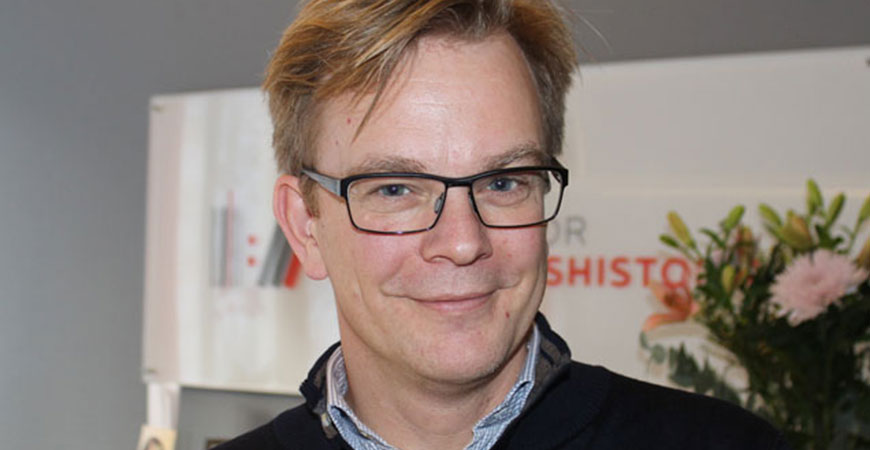 Anders SJöman, new VP of Communication at the Centre for Business History in Stockholm