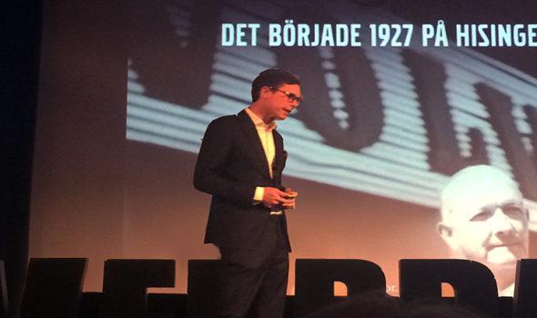 Per Carleö, chef marknadskommunikation på Volvo Personbilar