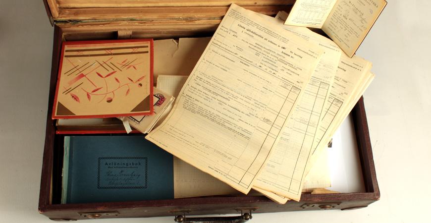 UR Samtiden: Antikvitetshandlarens koffert