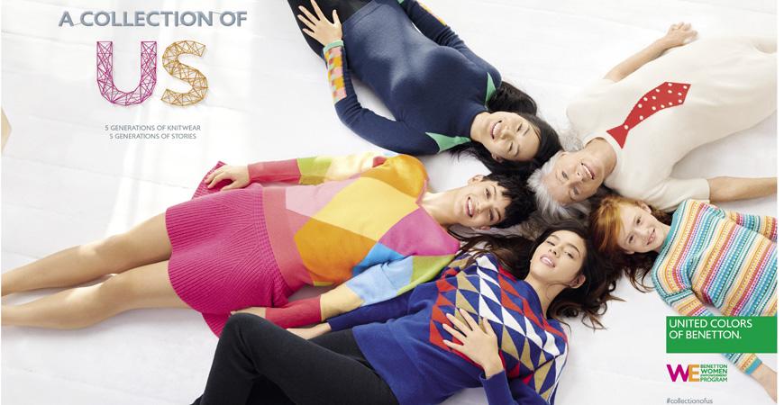 Foto från kampanjen: A Collection of Us. Foto: Benetton Group