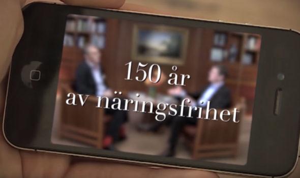 150 år av näringsfrihet. En TV-serie i fyra delar.