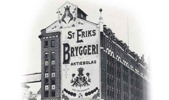 S:t Eriks Bryggeri på Kungsholmen i Stockholm cirka 1905-1912. Ur Stockholms stadsmuseums arkiv