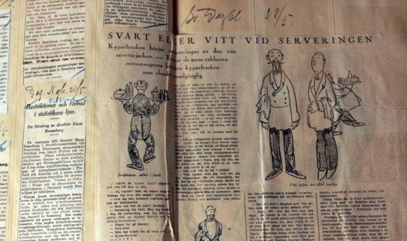 Pressklipp ur SvD 1926. Ur SARA:s arkiv hos Centrum för Näringslivshistoria