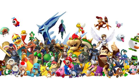 En samling av Nintendo:s olika karaktärer. Foto: Nintendo