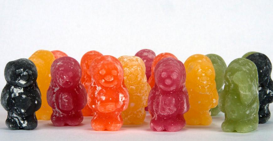 Jelly babies märkliga historia