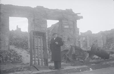 Sigge häggberg i polen efter kriget bild ur Albert Bonniers historiska arkiv hos Centrum för Näringslivshistoria