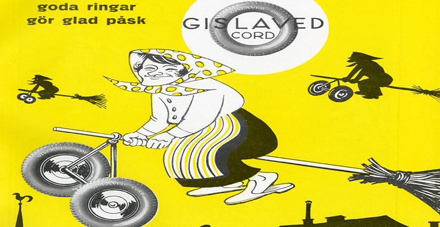 Gislaved Cord punkterade däckmonopolet