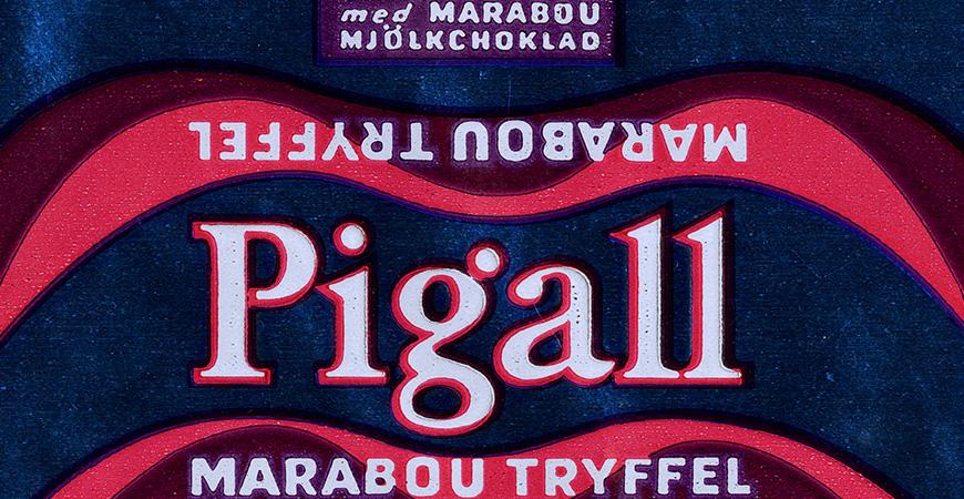 April 1959 - Marabou lanserar Pigall