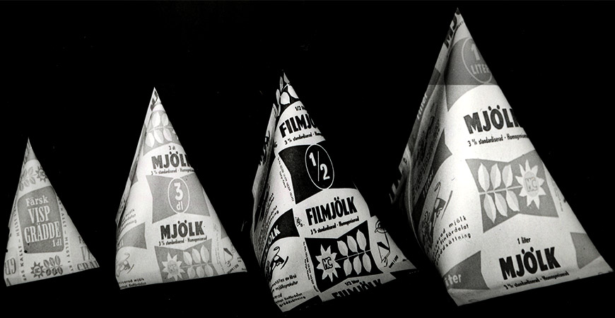 14 april 1954: Mjölk i Tetra Pak lanseras