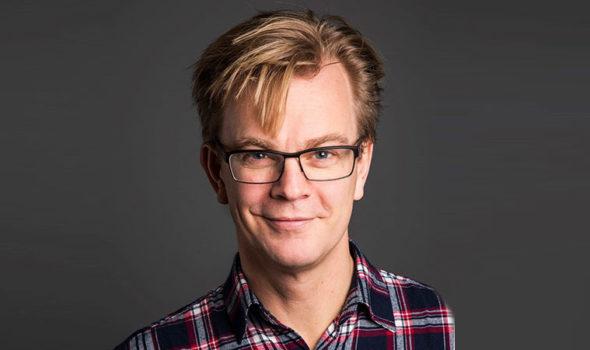 Anders Sjöman, kommunikationschef på Centrum för Näringslivshistoria