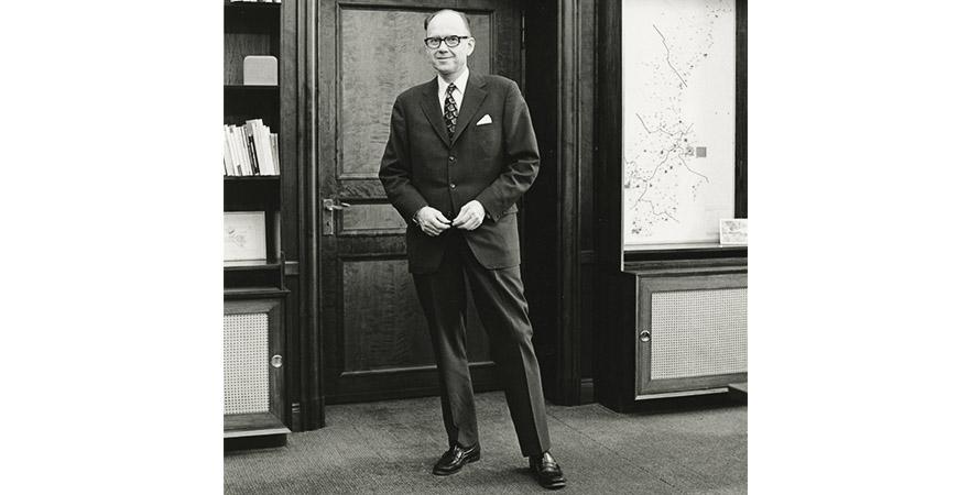 Jan Wallander (1920-2016) förändrade svenskt bankväsende