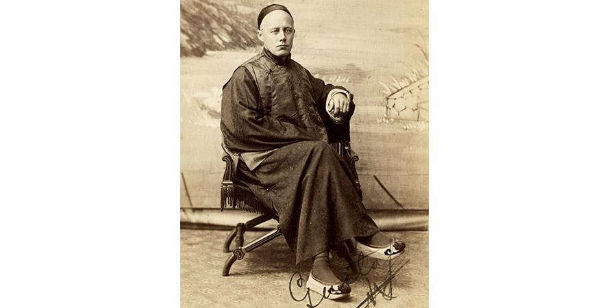 Kapten Gustaf Öberg - svensk affärsman i Kina