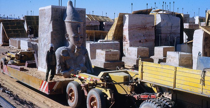 Lucka 19: När Ramses II fick skånsk flytthjälp