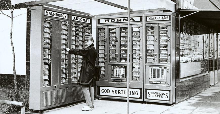 Lucka 7: Varuautomaten