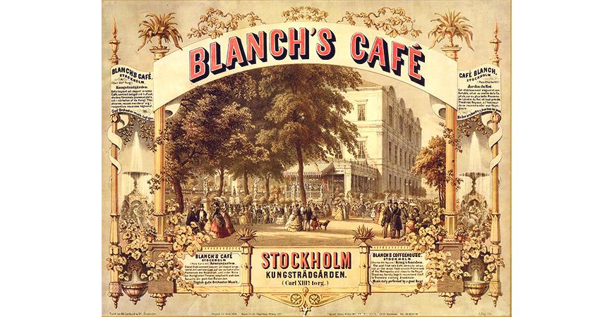 Blanchs Café tog kontinentens nöjen till Sverige