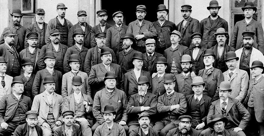 Pionjärerna på Bolinders mekaniska verkstad