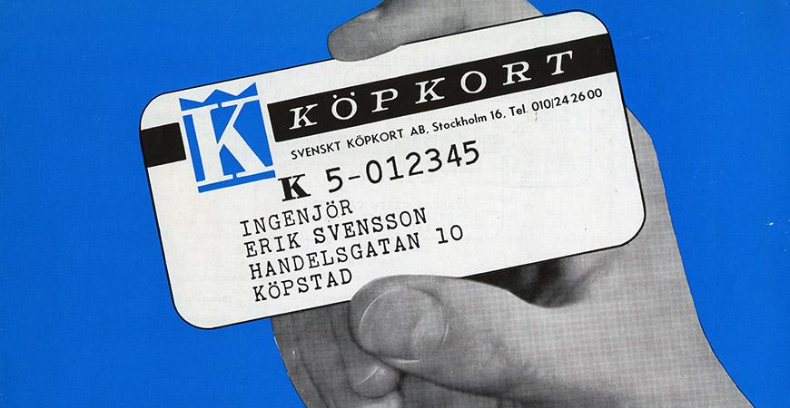 När plastpengarna kom till Sverige