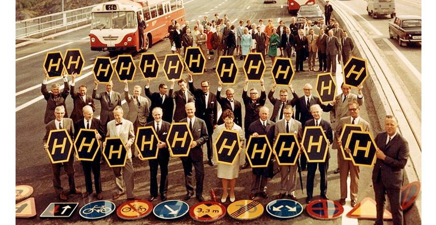 3 september är dagen H - Sverige får högertrafik