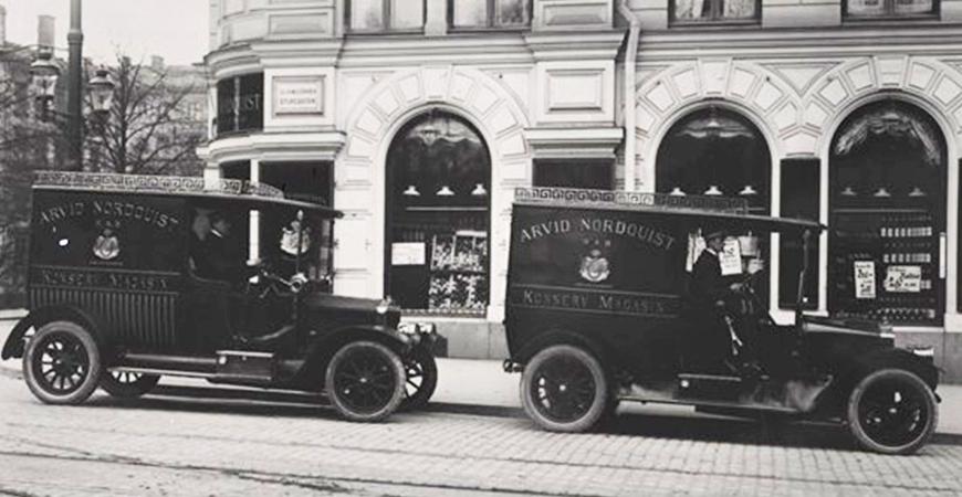 12 september 1884: Arvid Nordquist öppnar sin första butik