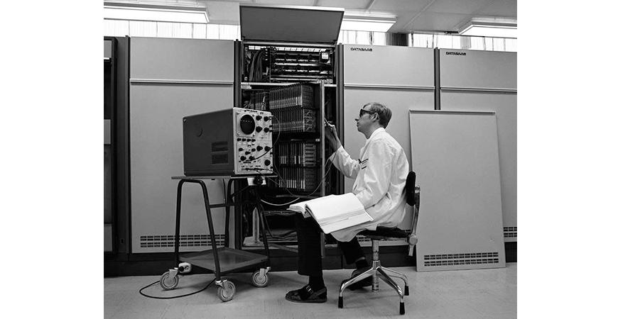 Sveriges dataindustri började med matematikmaskiner