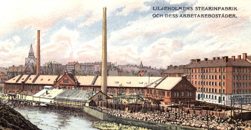 Radio CFN #5: Liljeholmens Stearinfabrik