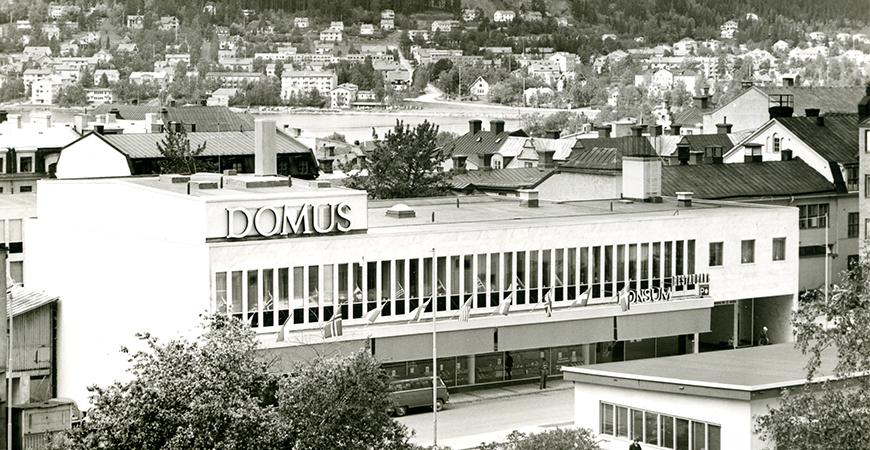 När Domus dominerade centrum