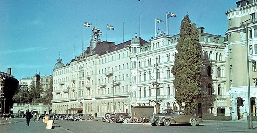 Grand Hôtels fasadprojekt, Sveriges tyngsta historiebruk