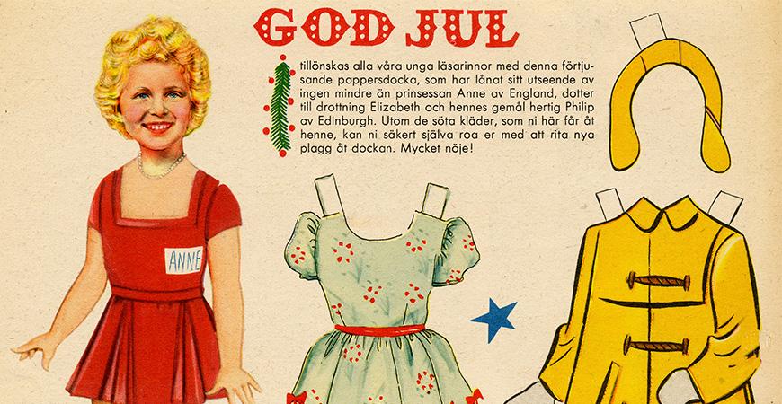 Lucka 15: Klippdockan - ett riktigt julklipp