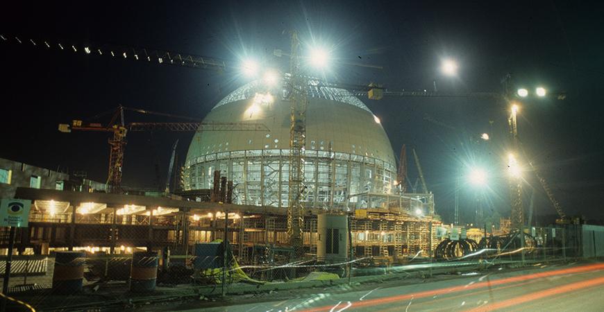 Allas vår Ericsson Globe fyller 30