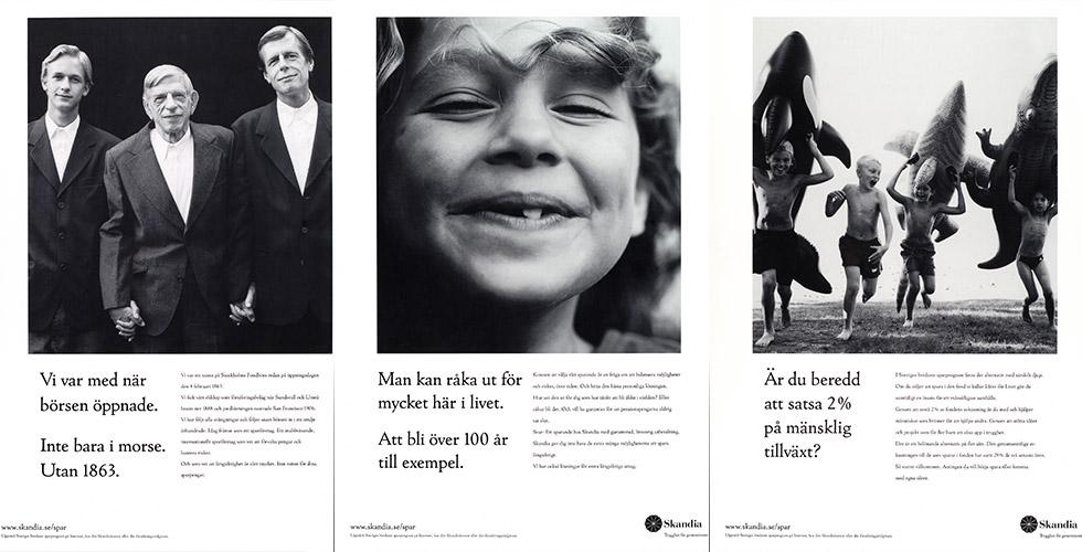 Sverige/Sydafrika tur och retur - Skandias moderna historia