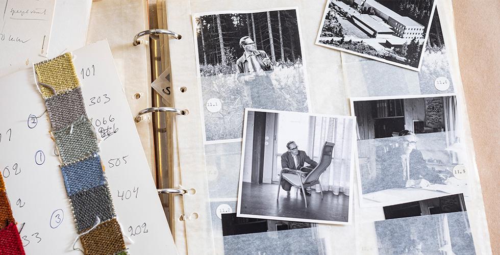 Yngve Ekströms arkiv till Centrum för Näringslivshistoria