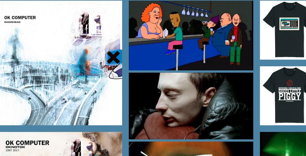 Radioheads historia på webben