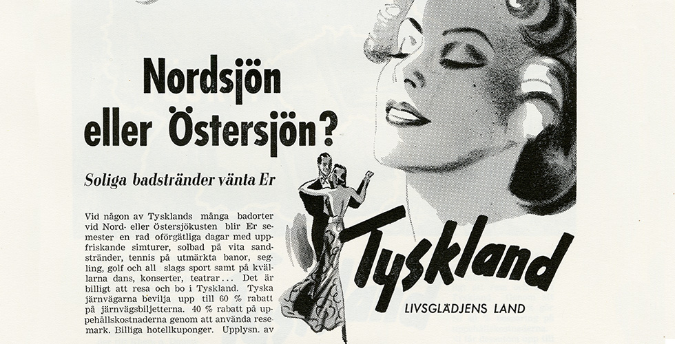 """Ur arkivet: """"Livsglädjens land"""""""