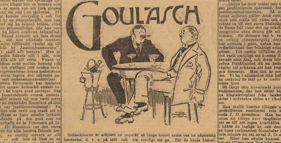Gulaschbaronernas tid