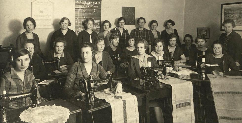 Den revolutionerande symaskinen