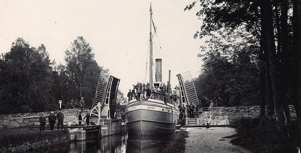 Platsen: Göta kanal