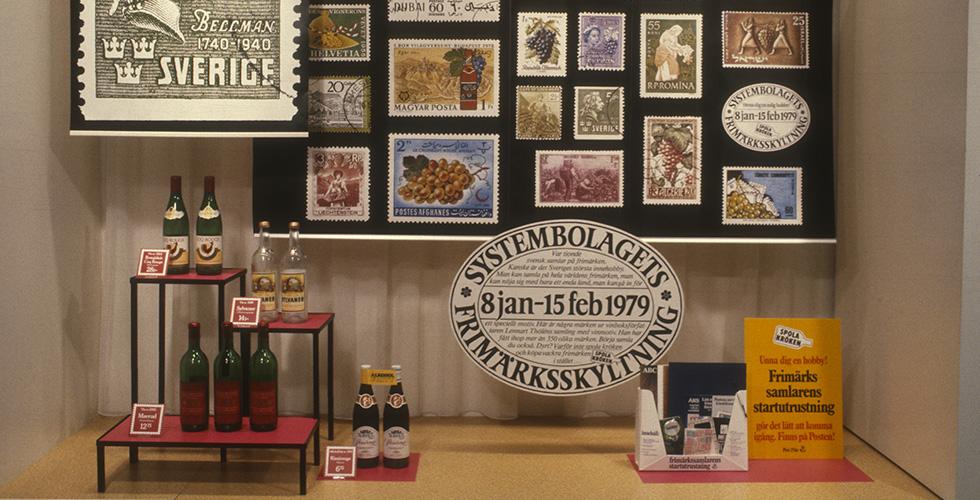 Ur arkivet: Systembolaget frimärkskampanj
