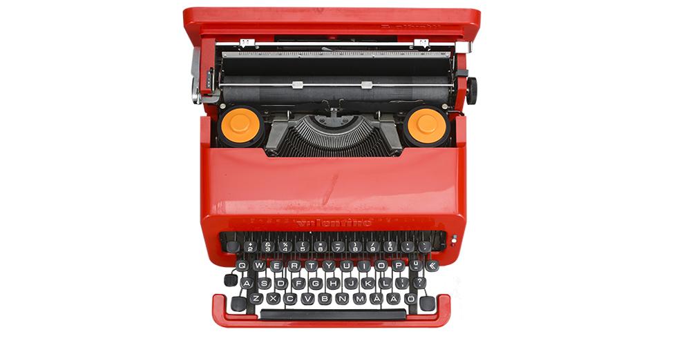 I detalj: skrivmaskinen
